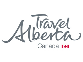 Mad Dogs Englismen TravelAlberta Logo